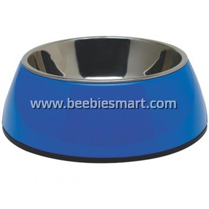 Dogit 2-in-1 Dog Dish - Small - Blue