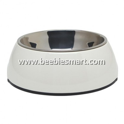 Dogit 2-in-1 Dog Dish - Small - White