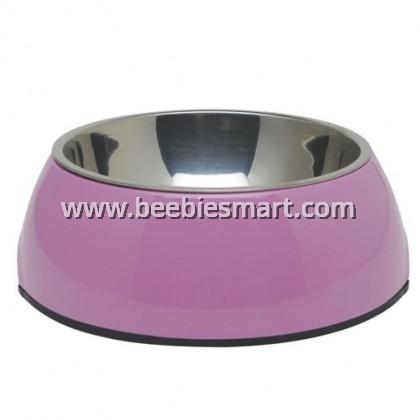 Dogit 2-in-1 Dog Dish - Medium - Pink