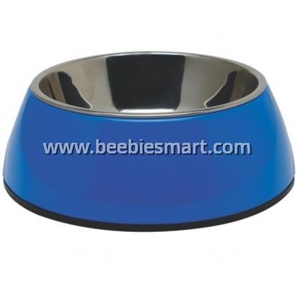 Dogit 2-in-1 Dog Dish - Medium - Blue