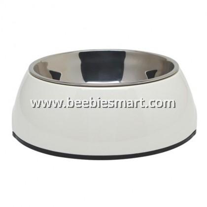 Dogit 2-in-1 Dog Dish - Medium - White