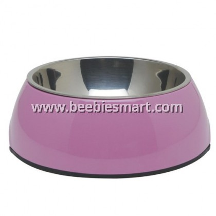 Dogit 2-in-1 Dog Dish - Large - Pink