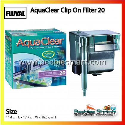 Aqua Clear Clip On Filter 20