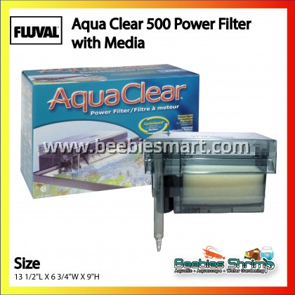 Aqua Clear 500 Power Filter with Media