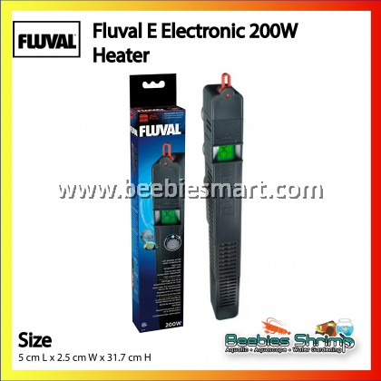 Fluval E Electronic 200W Heater