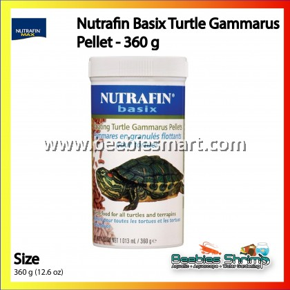 Nutrafin Basix Turtle Gammarus Pellet - 360 g