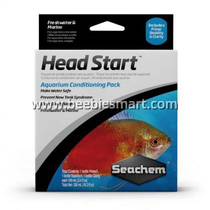 Seachem Head Start 3 x 100 ml