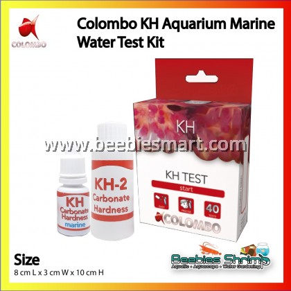 COLOMBO KH AQUARIUM MARINE WATER TEST KIT