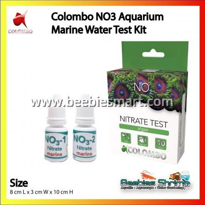 COLOMBO NO3 AQUARIUM MARINE WATER TEST KIT