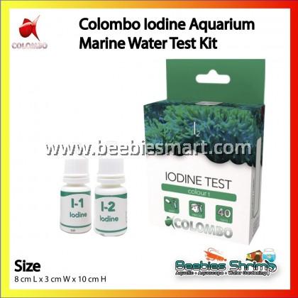 COLOMBO IODINE AQUARIUM MARINE WATER TEST KIT