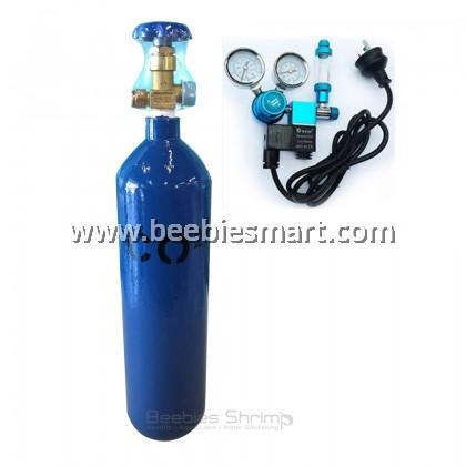 CO2 Cylinder / CO2 tank 3L & CO2 Regulator Double Gauge