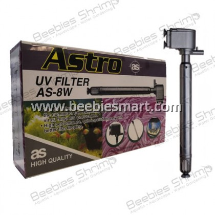 Astro AS-8W Submersible UV Filter 7.5W - 670 L/H