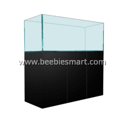 Crystal Clear Glass Aquarium and Cabinet Set - 4 FT