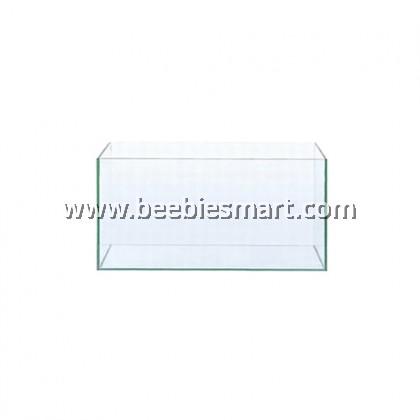 CRYSTAL CLEAR GLASS AQUARIUM 60 X 30 X 35 CM