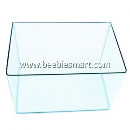 Bending Crystal Glass Aquarium U Tank 40 x 23 x 26 cm