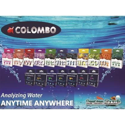 Colombo Fresh Water Test Kit/ Test For PH, KH, GH, NH3, NO2, NO3 & PO4 Full Range