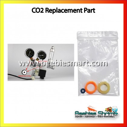 "1 Set CO2 Regulator Solenoid washer O Ring Sealing oring seal for 1/8"" thread"