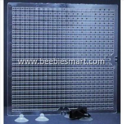 Aquarium Tank Separator Divider M 36.5cm x 36.5cm