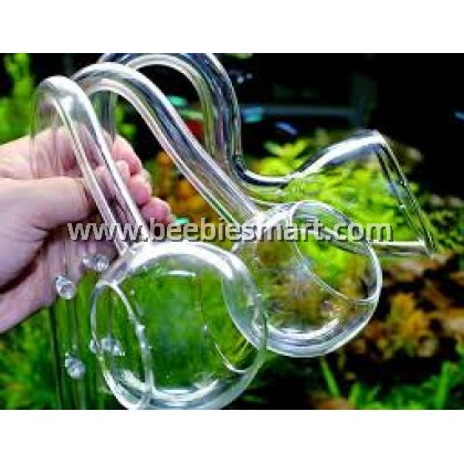 Lily Pipe Glass For Hose/Pipe Diameter 12/13mm