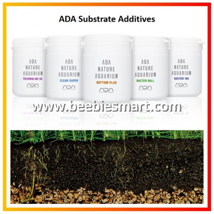 ADA Substrate Additives/ Bacter 100/ Bacter Ball/ Clear Super/ Tourmaline BC/ Bottom Plus