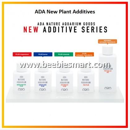 ADA New Plant Additives / ECA Plus / Green Gain Plus / Green Bacter Plus / Phyton Git Plus / Phyton Git SOL