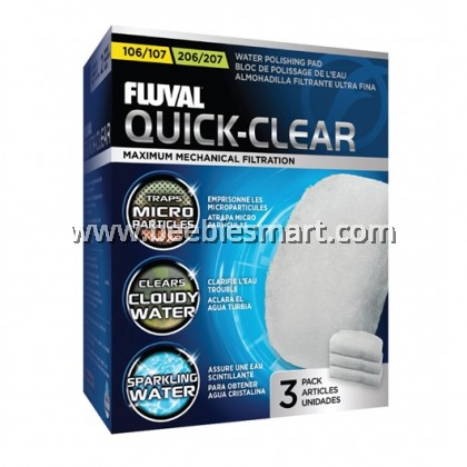 Fluval External Filter Foam Block / Bio Foam / Bio Foam Max / Quick Clear