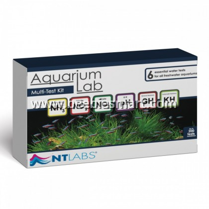 NTLabs Aquarium Labs Multi Test Kit