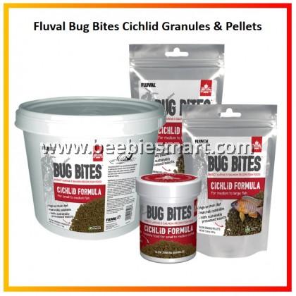 Fluval Bug Bites Cichlid Granules & Pellets