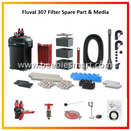 Fluval 307 Filter Spare Part & Media Collection