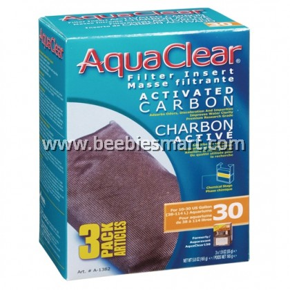 AquaClear 30 Activated Carbon Filter Insert - 165 g