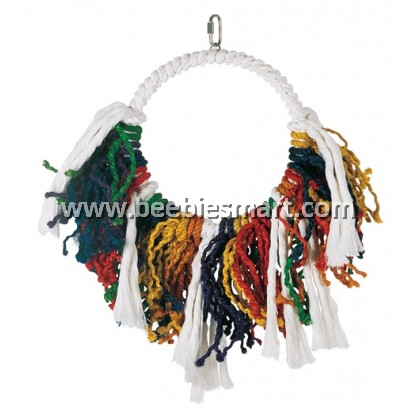 Living World Junglewood Bird Toy - Jumbo Rope Dream catcher