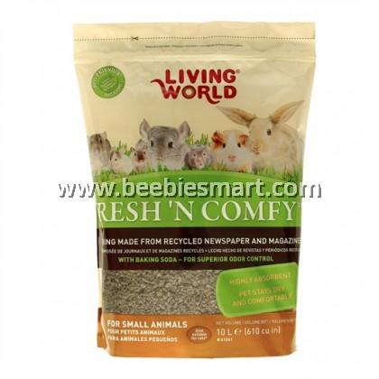 Living World Fresh 'N Comfy Bedding - 10 L - Tan