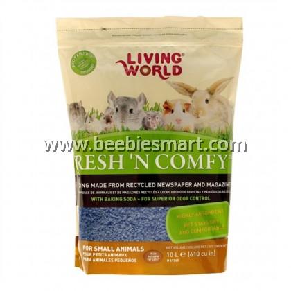 Living World Fresh 'N Comfy Bedding - 10 L - Blue