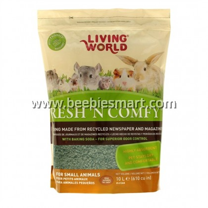 Living World Fresh 'N Comfy Bedding - 10 L - Green