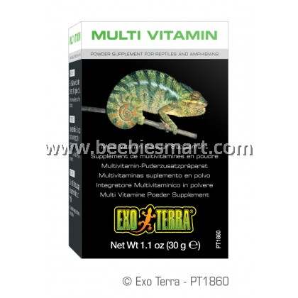 Exo Terra Multi Vitamin Powder Supplement	 1.1 oz (30g)